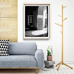 Black and White Photographic Print / Black and White Interior Art
