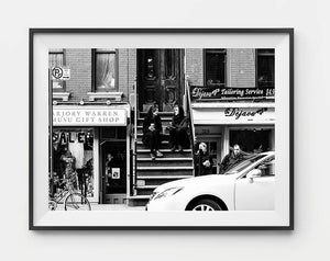 Black and white photographic art print / home decor / new york print
