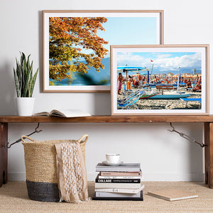 beach photography / framed artwork print / coastal interior decor