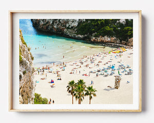 Beach Photography / Beach Photographic Print / Europe Travel Photography