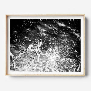 Beach Print, Black and White Print, Beach Photography