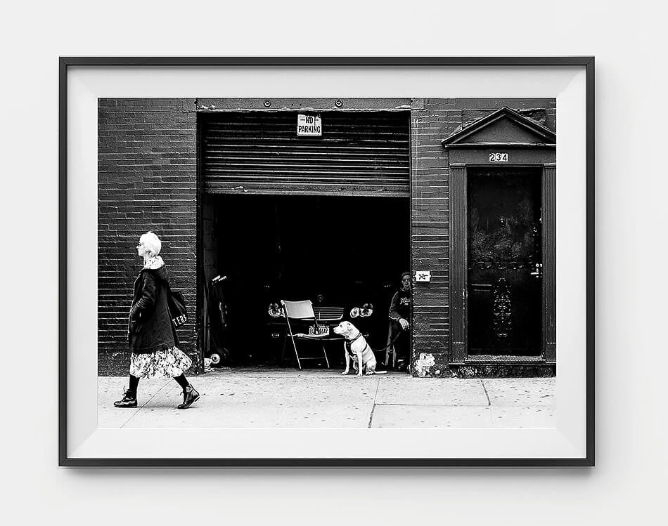 New York Street Photography / Framed artwork print / wall art / photographic print