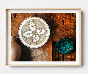 Rustic Artwork / Photographic Print / Morocco Travel Photography