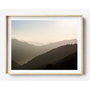 Nepal Travel Photography / Nepal Photographic Print / Coastal Interior