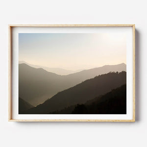 Nepal Travel Photography / Beach Print / Framed Print