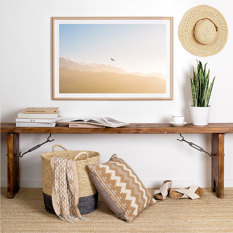 Framed photographic art print / Nepal / Home Interior Print for Wall