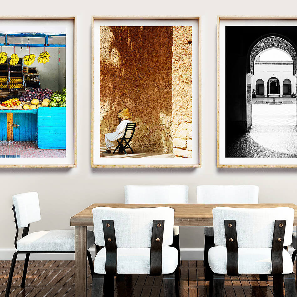 Photo Prints / Moroccan Interior / Rustic Beach Prints / Coastal Art