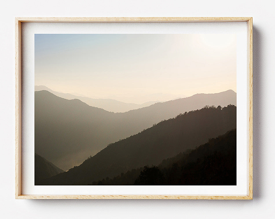 Framed photographic art prints / Coastal Artwork Print / Nepal Photography