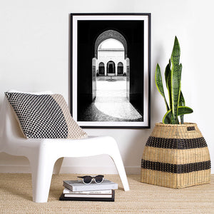 Photographic Art Print / black and white interior decor / monochrome art print