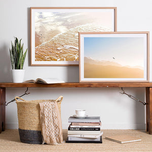 Beach Art / Photographic Beach Print / Framed Wall Art