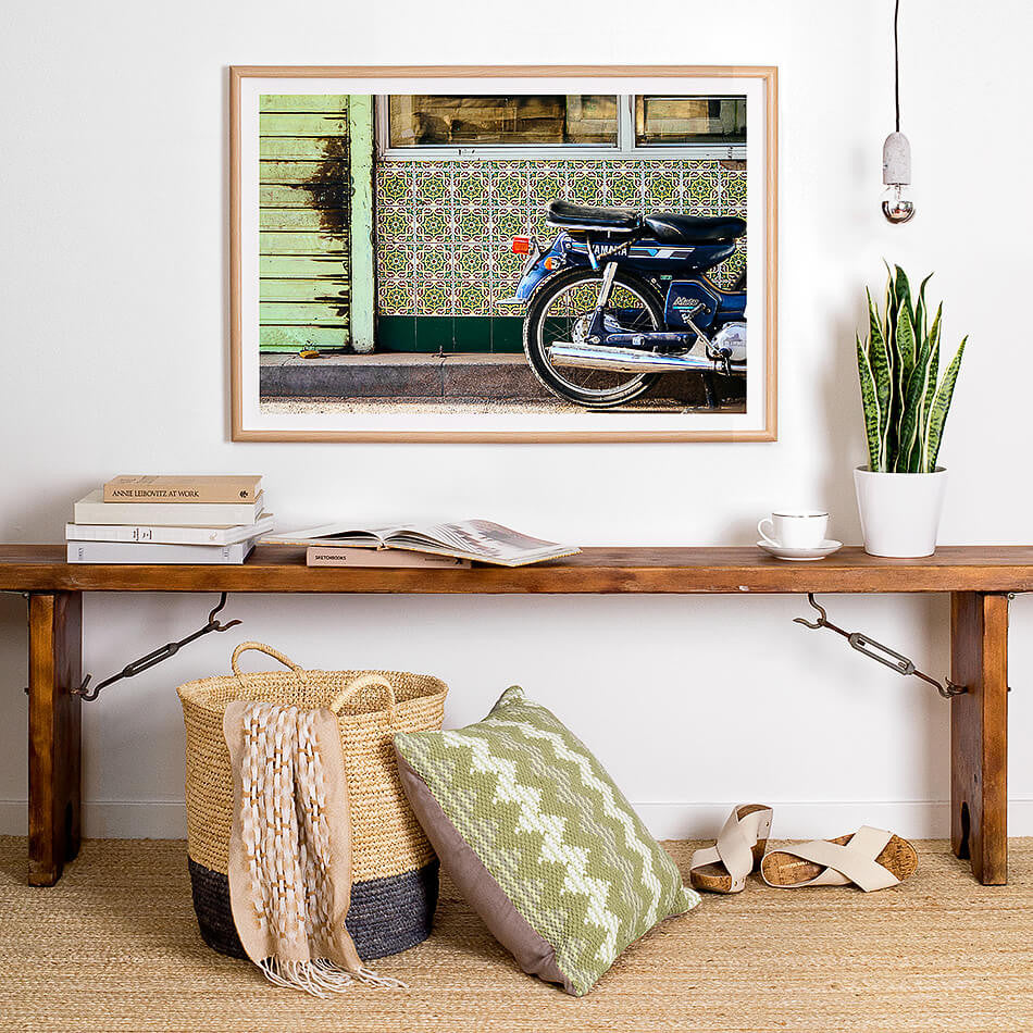 Photographic Art Print / Rustic Beach Artwork / Morocco Travel Photography