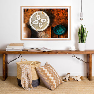 Framed Photographic Artwork Print / Rustic Art / Moroccan Travel Photography