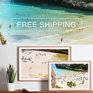 Free shipping australia wide / photographic art prints / beach artwork