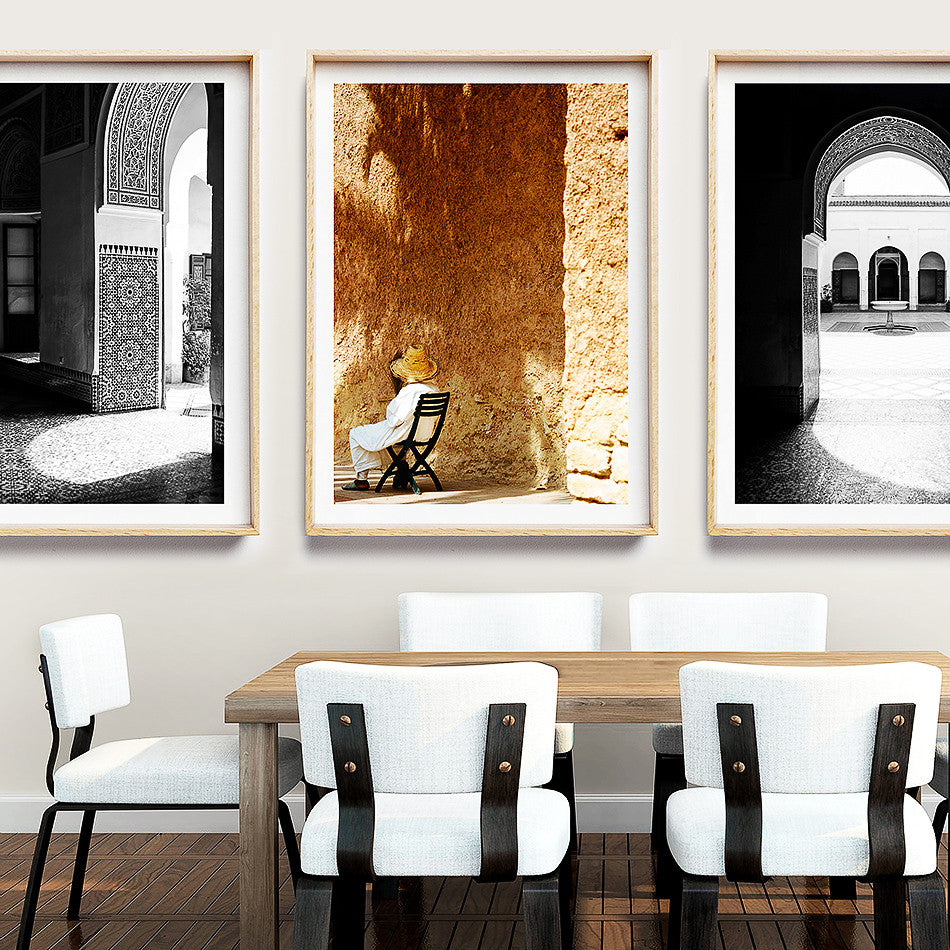 Moroccan Decor / Rustic Coastal Wall Art / Brisbane Wall Art / Framed Art online