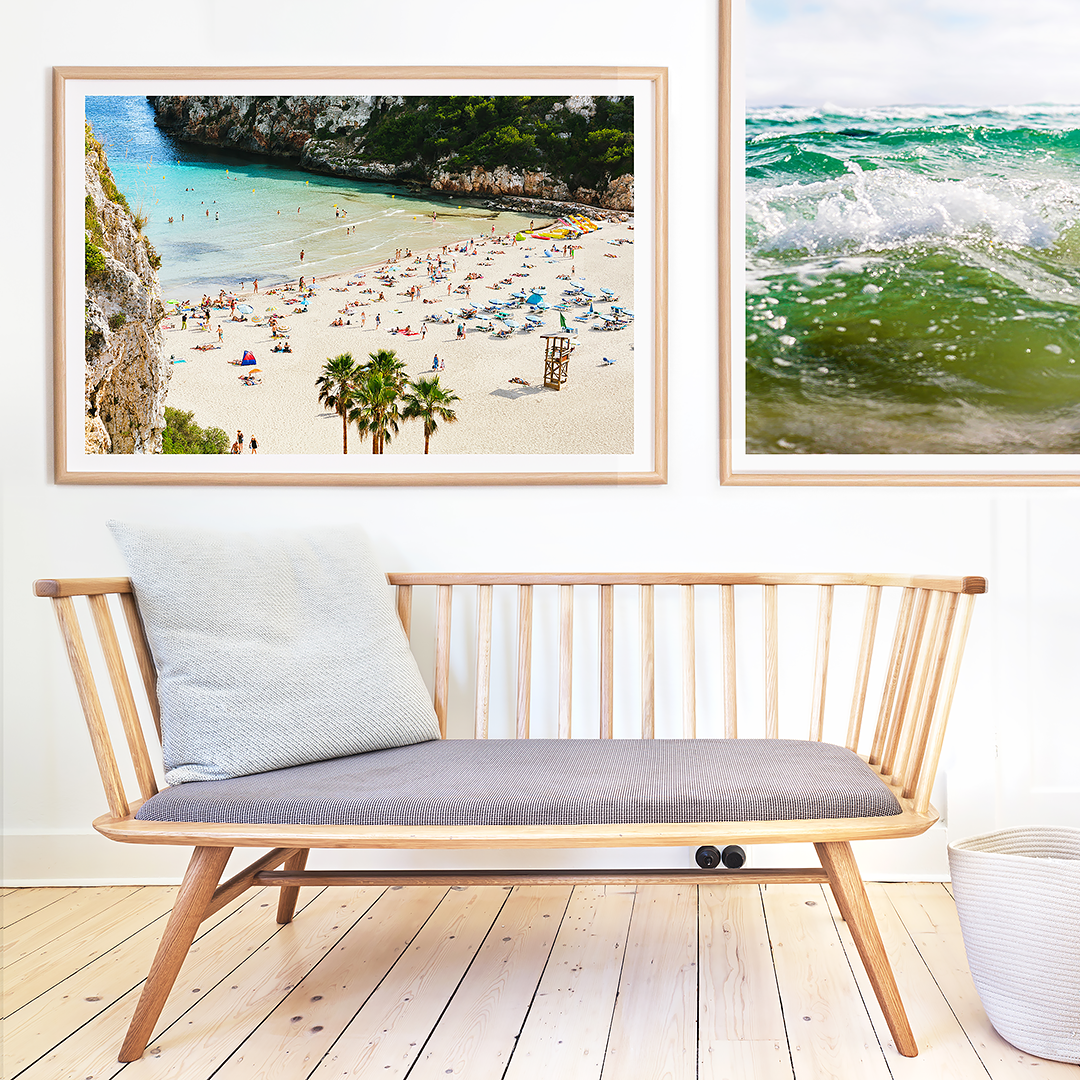 Beach Print / Coastal Home / Photographic Print / ByronBay / Spain
