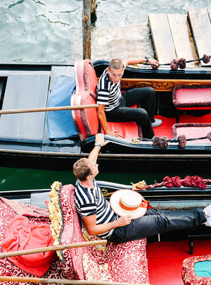 Venice Gondola Print / Venice Photo Print / Venice Travel Photography