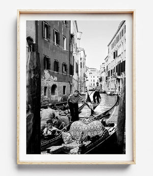 Framed Photographic Artwork Brisbane / Venice Photography