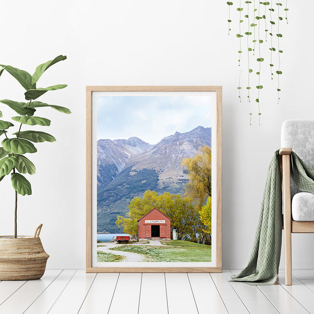 new zealand photography print mt cook