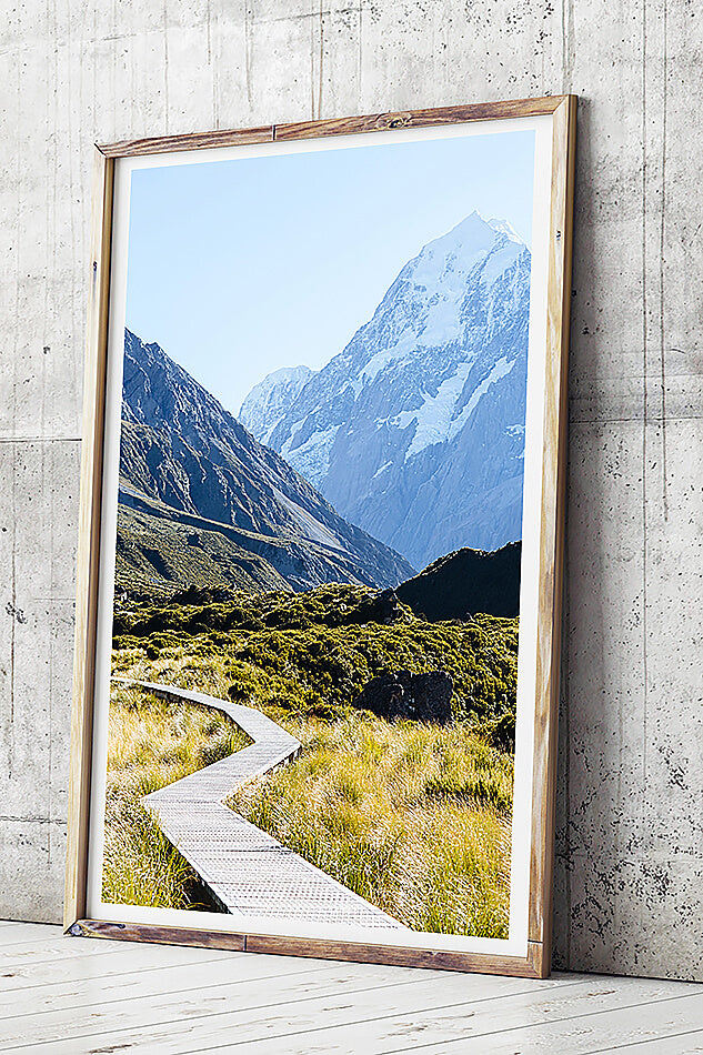 mt cook new zealand south island photography new zealand photographic print photograph of mount cook new zealand travel photography south island