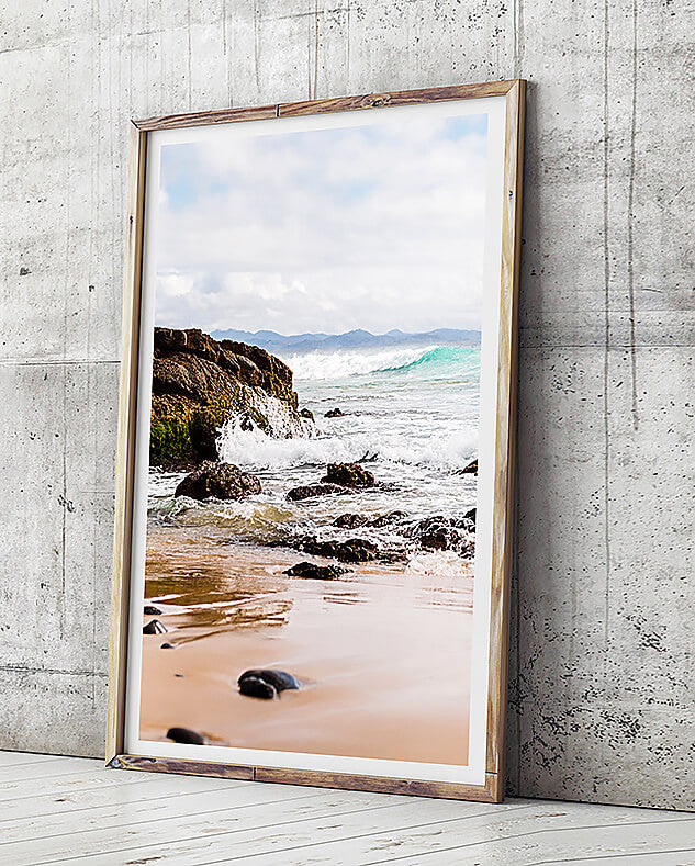 byron bay photography beach art beach print wategos beach byron bay photography framed art print brisbane art for walls brisbane photographic beach print brisbane