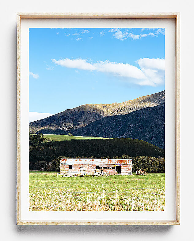 mountains of new zealand photographic print south island new zealand mountains print