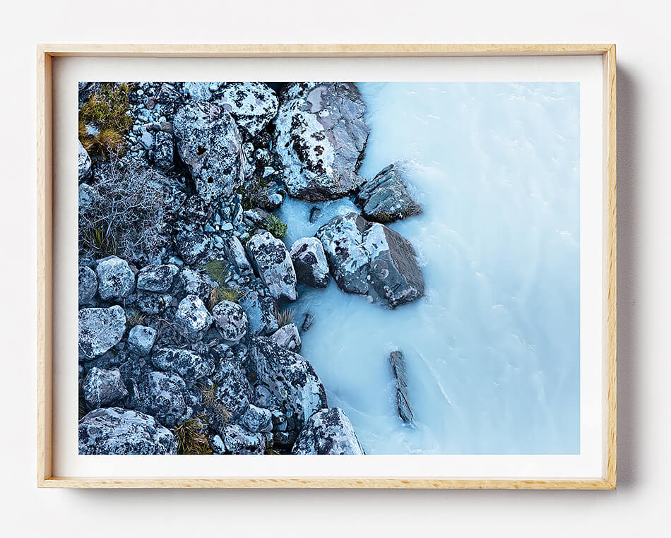 water print beach print beach print for coastal home blue water photography print new zealand travel photography