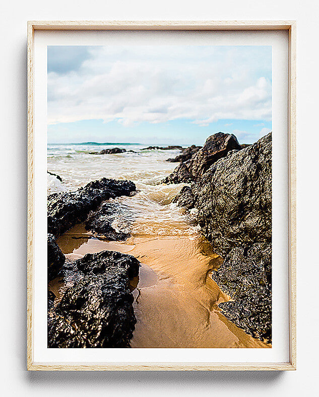 beach photography print byron bay photography beach print beach art the pass byron bay coastal interior water photography