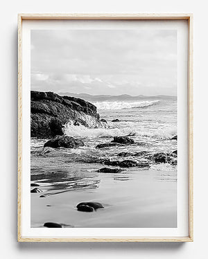 black and white photography byron bay beach framed art wategos beach byron bay photographic art brisbane beach print brisbane beach art art for walls brisbane byron bay photography beach print brisbane photographer