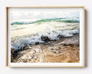 beach print beach art byron bay photographic print byron bay photography coastal interior coastal home art framed art for walls brisbane byron bay photographer