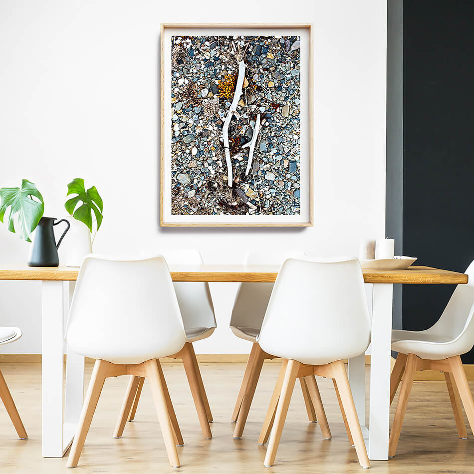 beach print beach interior shells print coastal interior print coastal print for wall