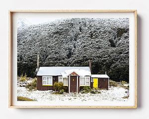 winter in new zealand south island photo print new zealand travel photography