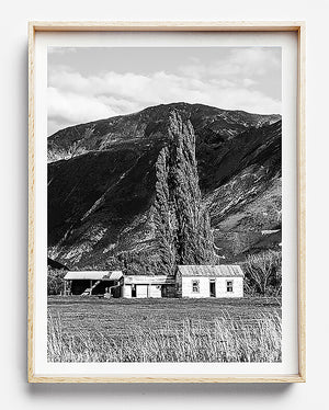 black and white print home interior monochrome interior print new zealand photography mount cook
