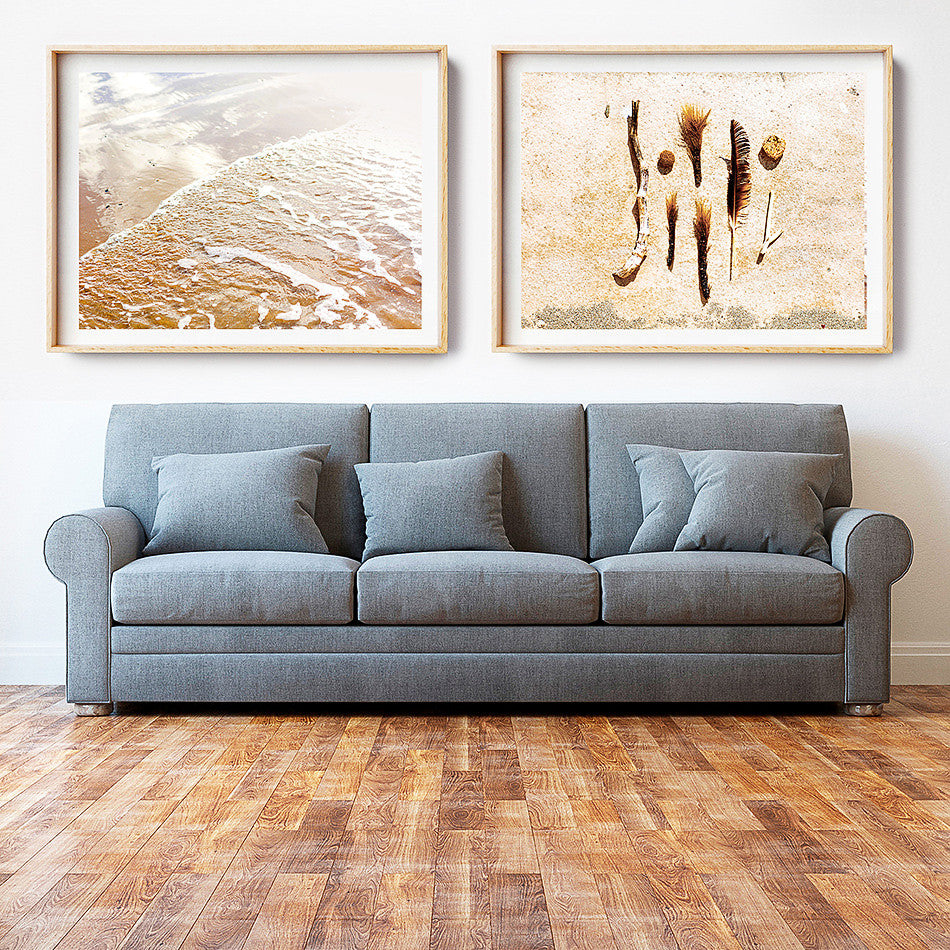 beach photographic art for wall home interior art natural tones coastal home interior beach art framed print