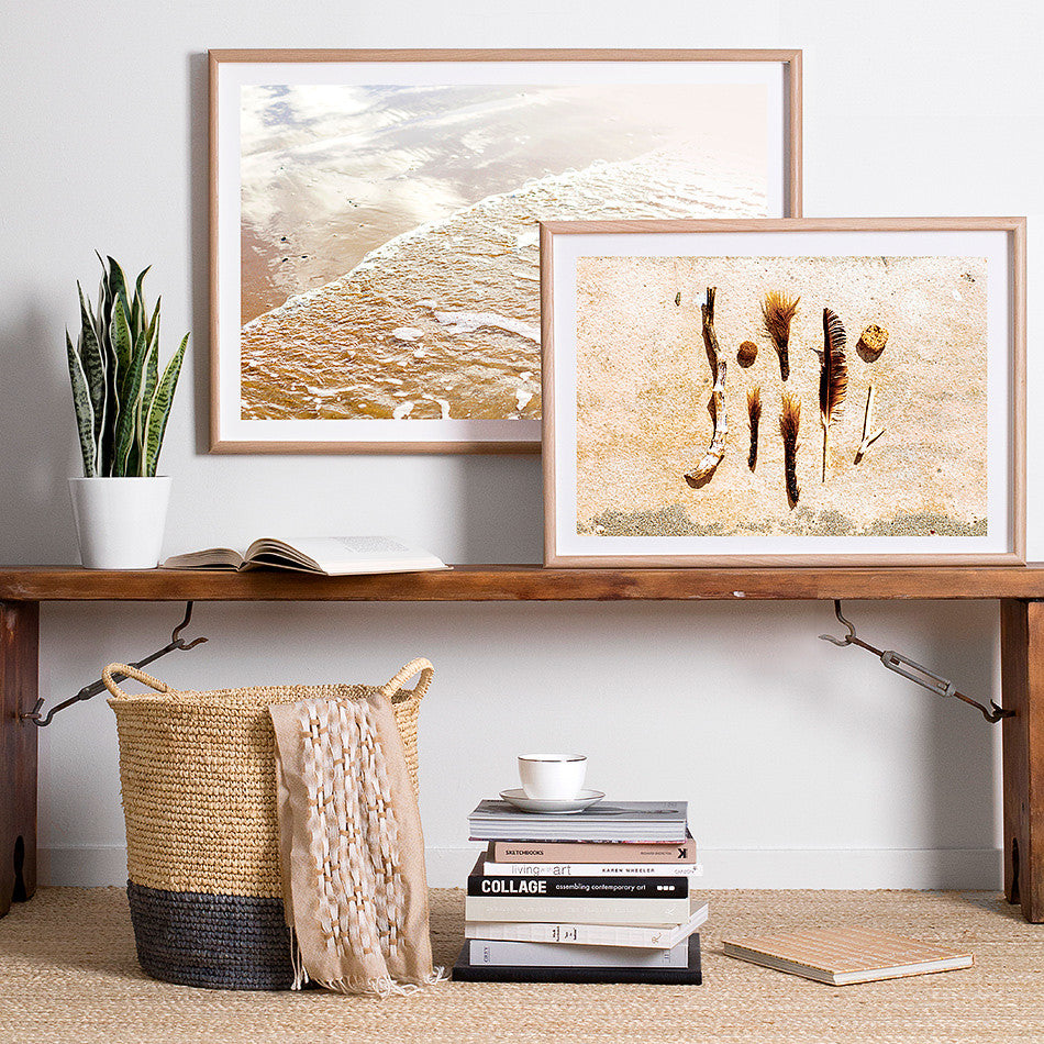 beach framed print coastal homewares beach interior natural toned homewares ocean photography print nature photography
