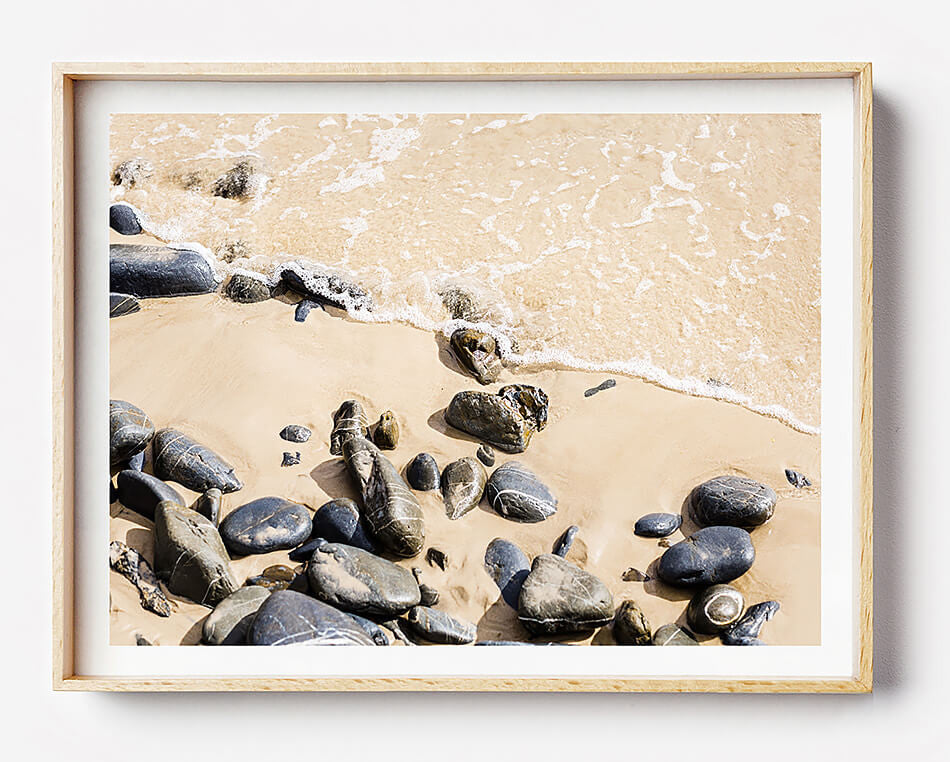 Beach Rocks II / Photo Print – Clair Estelle