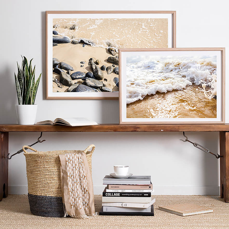beach photography byron bay art prints brisbane interior wall prints framed coastal home brisbane artist beach print interior homewares beach art coastal art