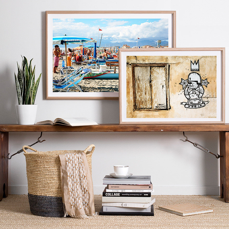 beach photography rustic interior artwork rome italy beach coastal art print framed artwork print