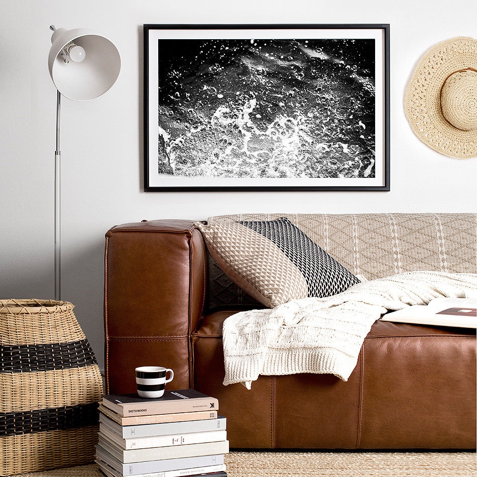 beach print ocean beach artwork print coastal home design interior styling beach print framed artwork black and white artwork photographic prints for the home decor wall art framed art prints brisbane black and white photographic art prints monochrome art prints