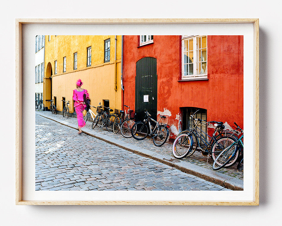 Photo art for wall fine art photographic print for home interior ikea ribba frame print travel photography of  street photography in copenhagen photography at copenhagen denmark taken by a brisbane photographer australian print photographic print shop brisbane framed art prints brisbane home decor wall art framed art prints brisbane photographic prints for the home