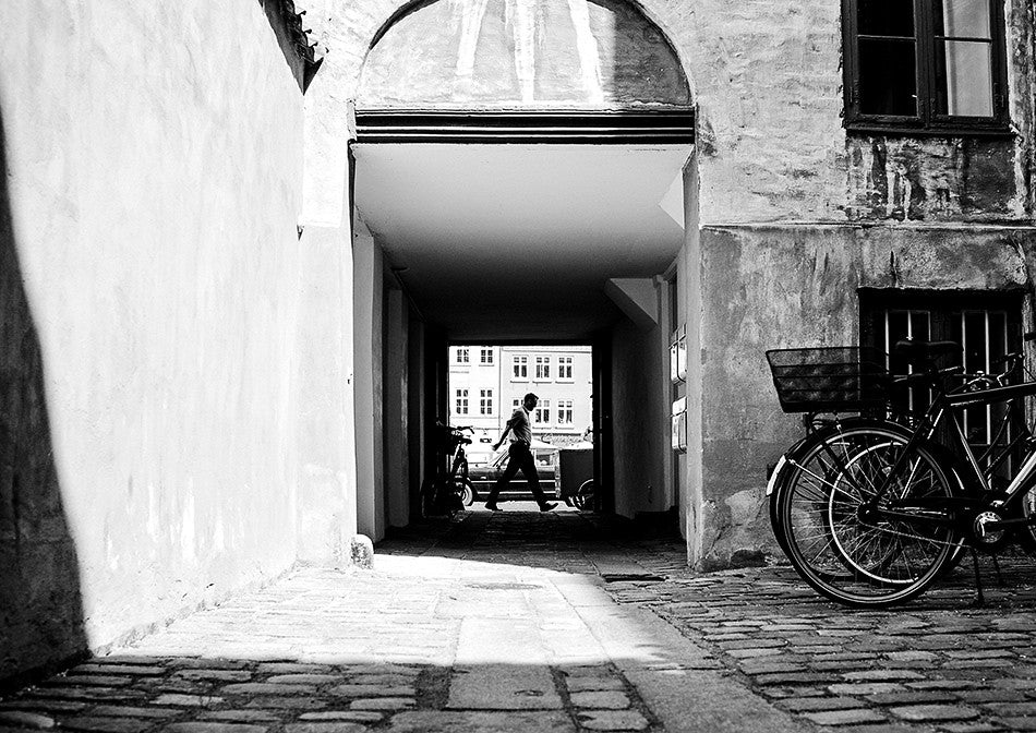 photographic artwork fine art print of streets of Copenhagen photography print at New York street photography interior design limited edition print creative wedding photographer