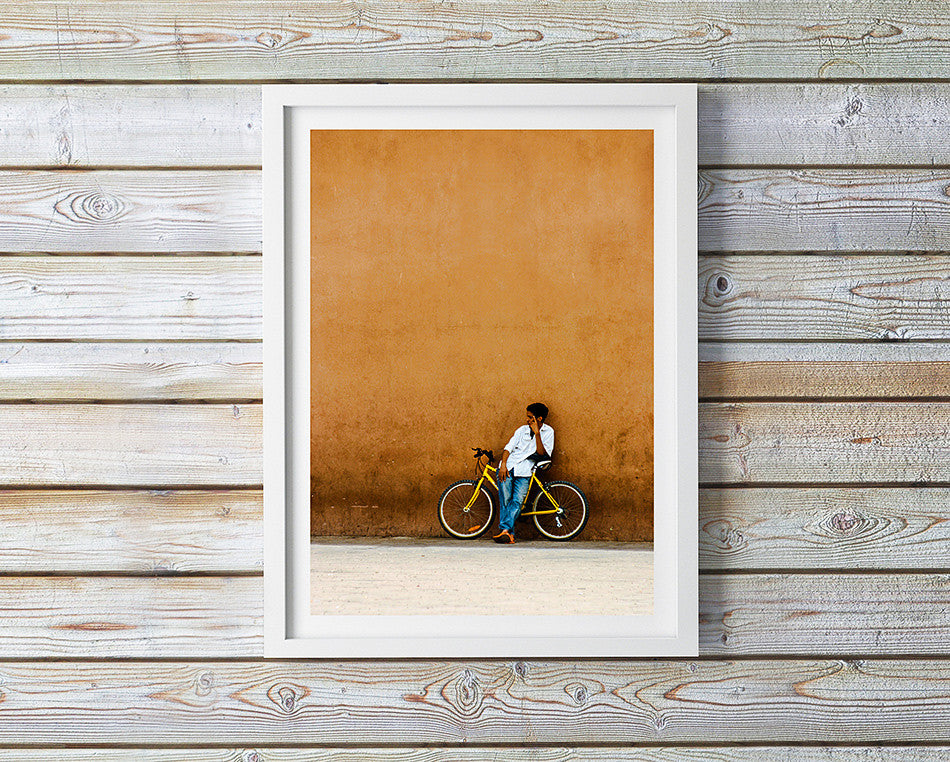 Photo art for wall fine art photographic print for home interior ikea ribba frame print travel photography of street photography in marrakesh morocco taken by a brisbane photographer australian print photographic print shop brisbane home decor wall art photographic prints for the home