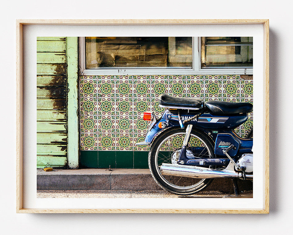Photo art for wall fine art photographic print for home interior ikea ribba frame print travel photography of motorbikes marrakesh market jemaa el fan in marrakesh morocco taken by a brisbane photographer australian print photographic print shop brisbane home decor wall art photographic prints for the home