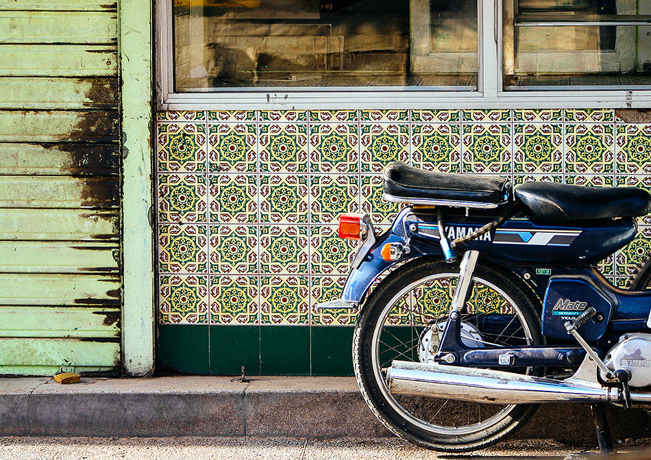 photographic artwork fine art print of motorbikes marrakesh market jemaa el fan photography print at marrakesh morocco photography interior design limited edition print creative wedding photographer