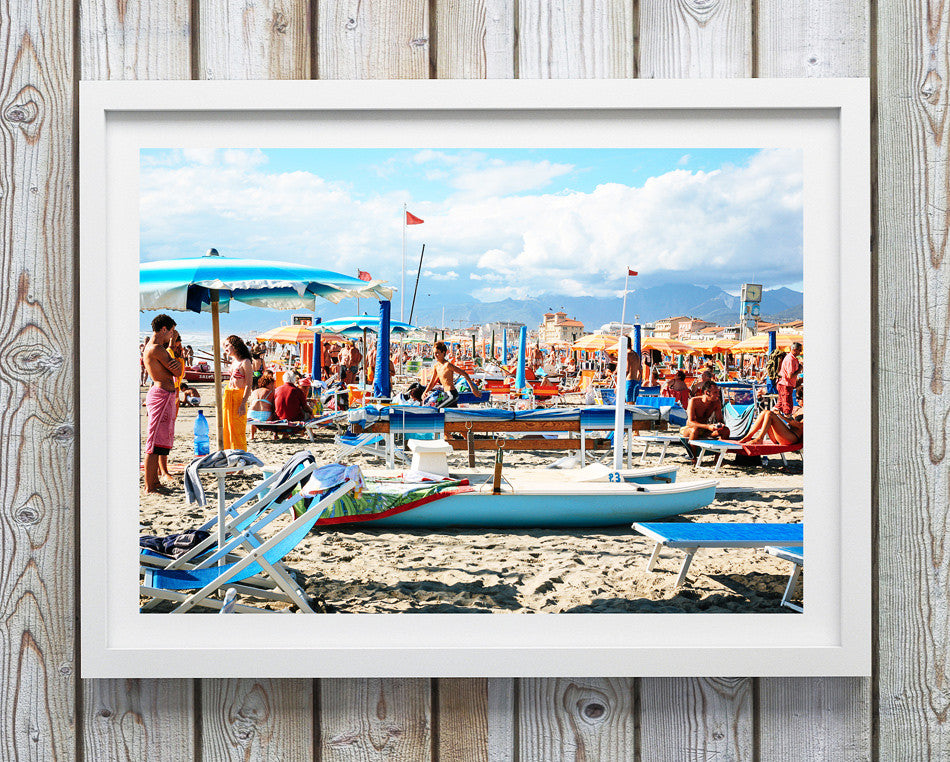 Photo art for wall fine art photographic print for home interior ikea ribba frame print travel photography of beach print Sperlonga Italy taken by a brisbane photographer beach print photo wall art prints brisbane framed art prints brisbane photographic print shop brisbane