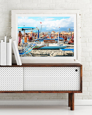beach life limited edition fine art photography print was created in Sperlonga Italy artwork to purchase online for the home interior design documentary travel photographer photographic print beach print photo wall art prints brisbane framed art prints brisbane photographic print shop brisbane