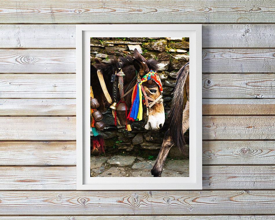 Photo art for wall fine art photographic print for home interior ikea ribba frame print travel photography of hiking in nepal colourful village artwork print in kathmandu pokhara nepal taken by a brisbane photographer australian print