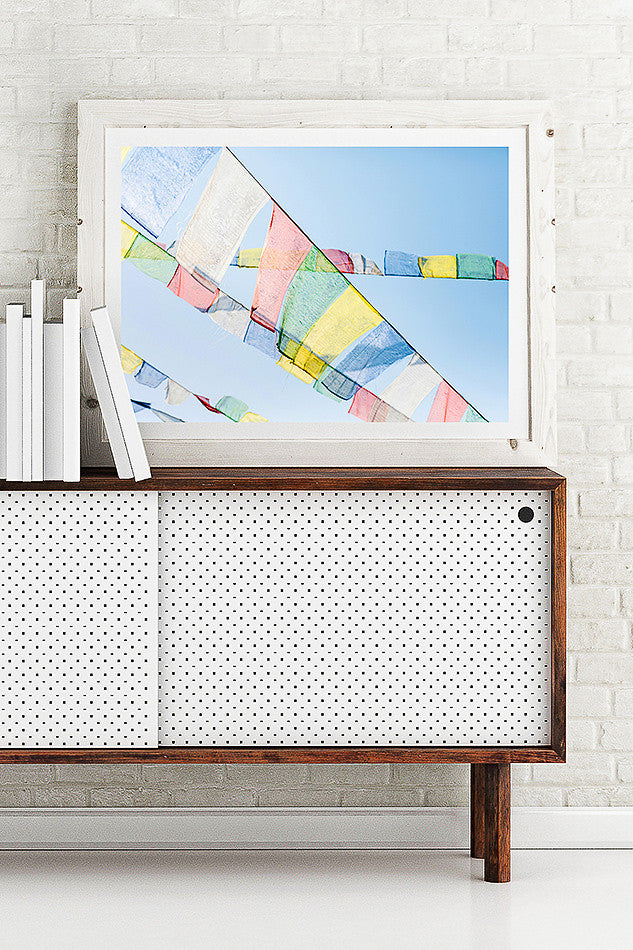 Prayer Flags, Nepal / Photo Art Print – Clair Estelle