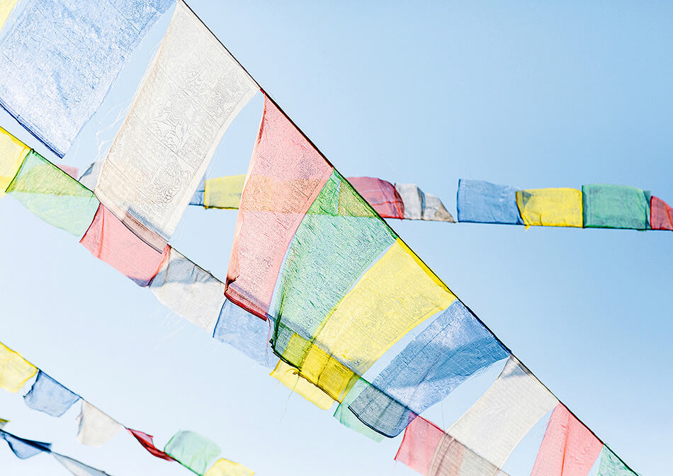 Prayer Flags, Nepal / Photo Art Print