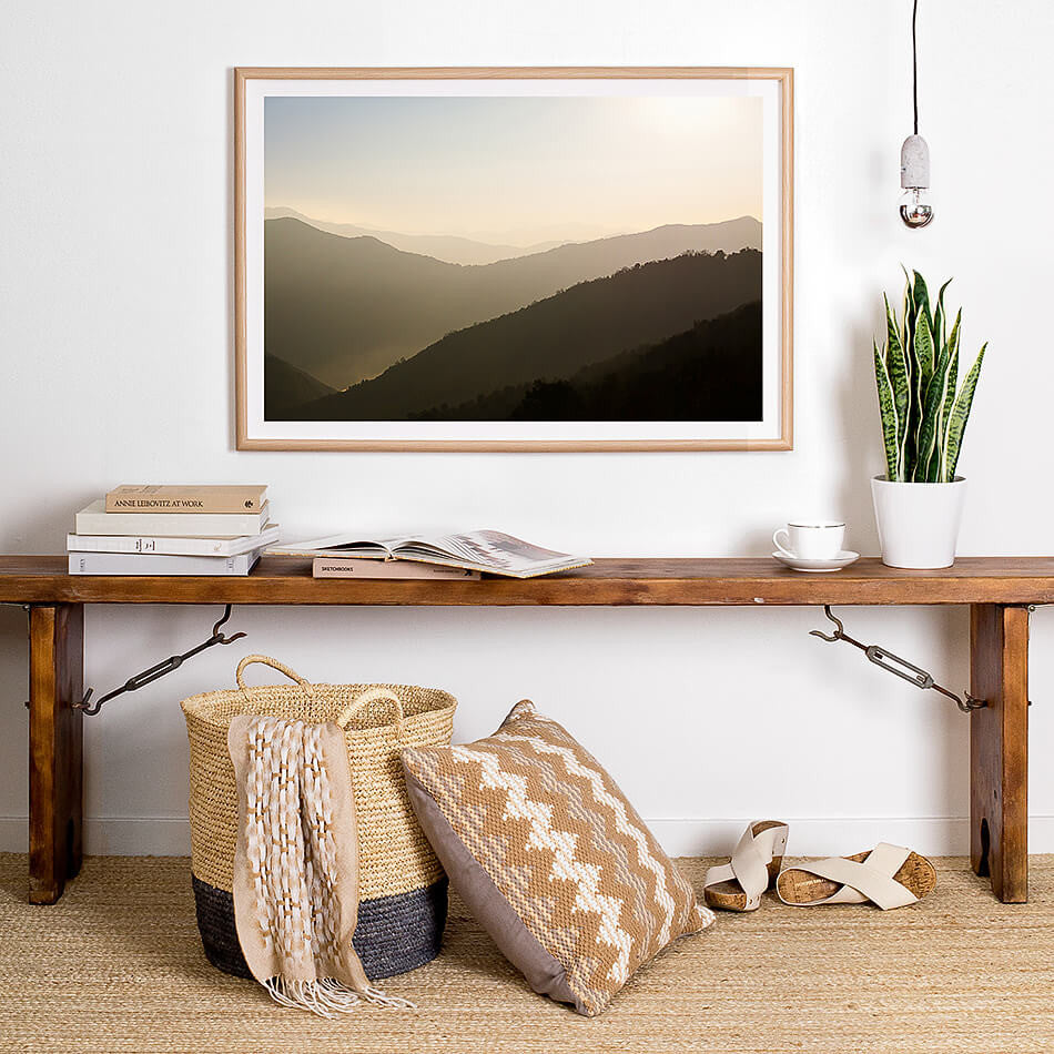 nepal photography framed art print coastal home neutral toned artwork nature print modern homewares