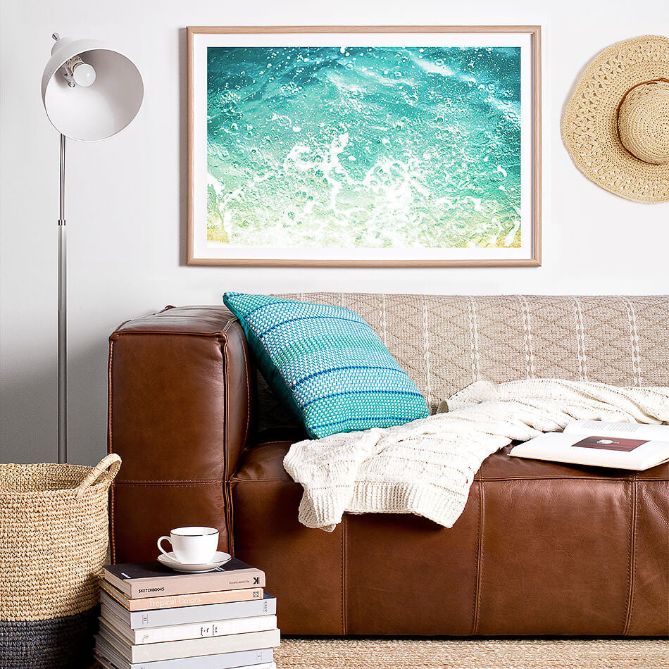 beach print ocean beach artwork print coastal home design interior styling beach print photographic prints for the home photo wall art prints brisbane home decor wall art framed art prints brisbane photographic print shop brisbane